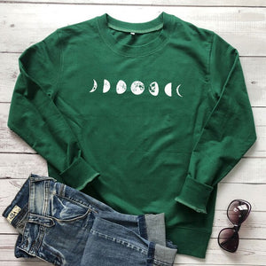 Moon Phase Sweater