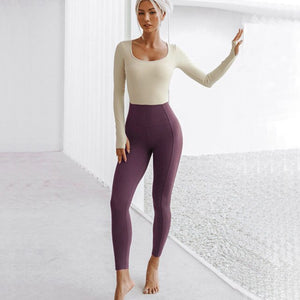Long Sleeved Yoga Jumpsuit