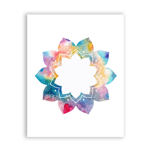 Beautiful Mandala Ornament Poster