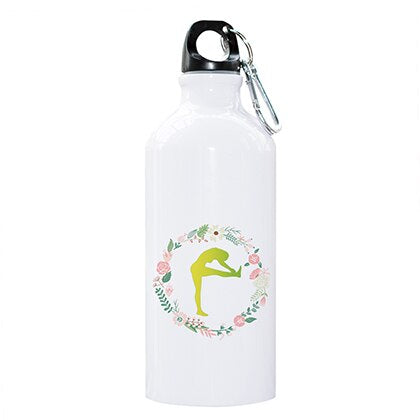 Yoga Posture Water Bottle