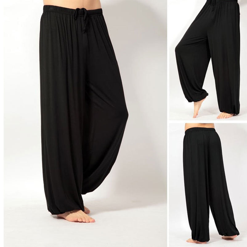 loose yoga pants for men