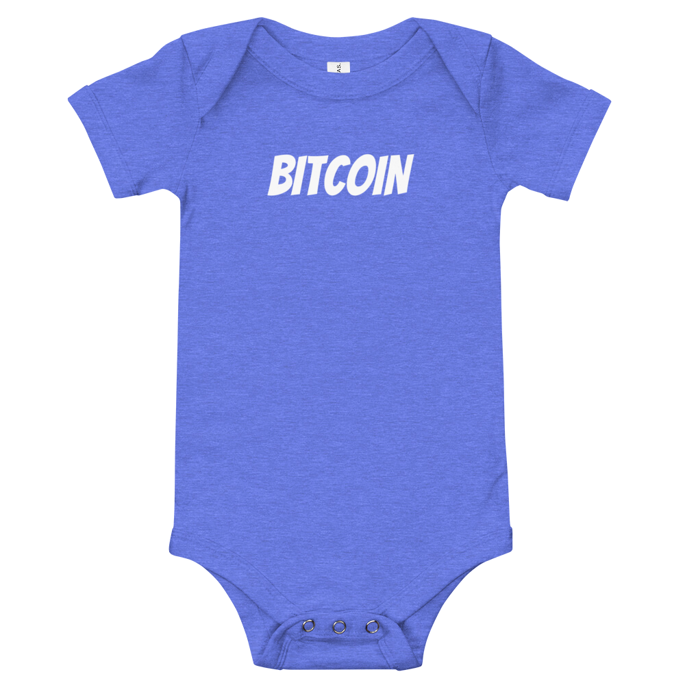 U Customize Baby Bitcoin T-Shirt