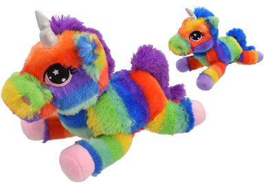 30cm Rainbow Unicorn Plush Soft Toy