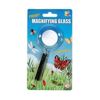 Pocket Magnifying Glass 2x Magnification