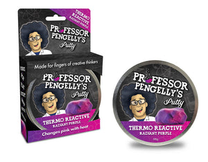 Professor Pengelly's Colour Changing Putty – Radiant Purple to Pink