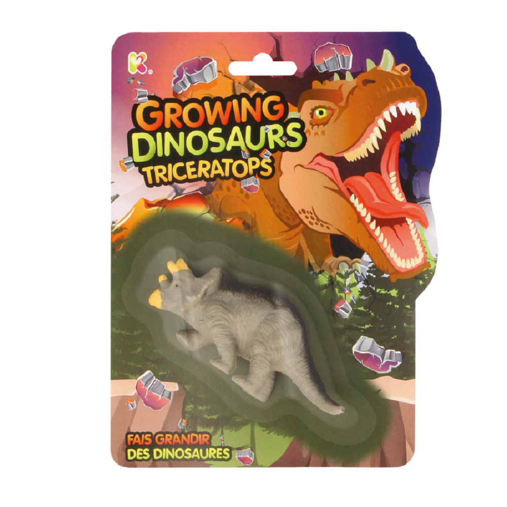 Growing Triceratops Dinosaur