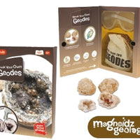 Magnoidz Break Your Own Geodes Geology Kit