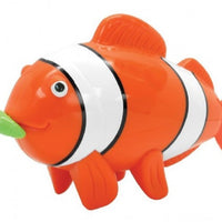 Wind Up Clockwork Swimming Clown Fish