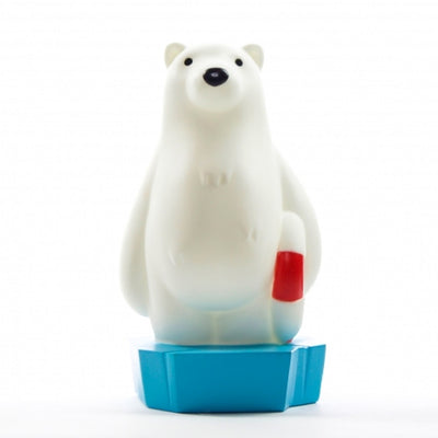 Colour Changing Polar Bear Night Light + 15 Minute Timer