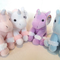 Kandy Toys Soft Plush Unicorn With Sparkly Horn