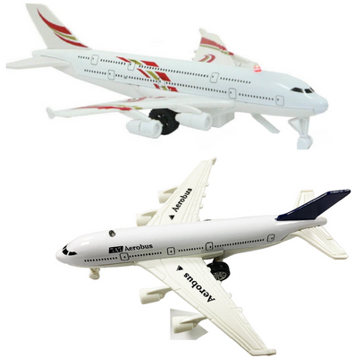 KandyToys Pull Back Super Airliner with Sound