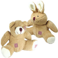 Plush Bear & Rabbit
