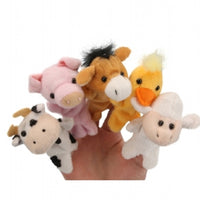 Living Nature Farm Finger Puppets