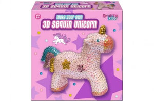 Make Your Own 3D Sequin Unicorn
