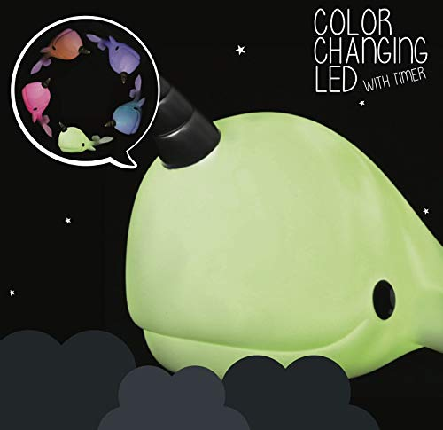 Colour Changing Narwhal Mood Night Light + 15 Minute Timer | Gift Giant