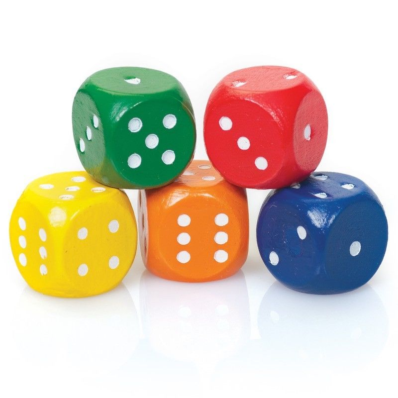 Set of 5 Dice