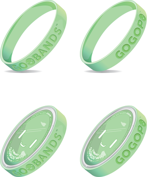 Goobands Glow Goo Slime With Wristband