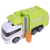 HTI Teamsterz Light and Sound Large Garbage Truck