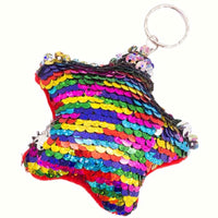 Sequin Flippable Keyring