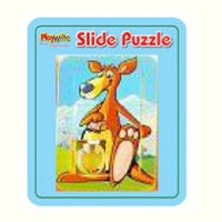 Mini 6pc Animal Slide Puzzle 3cm x 4cm