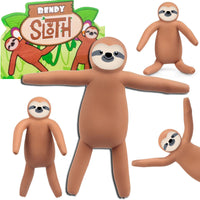 Bendy Sloth Figure
