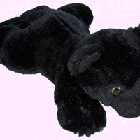 Ravensden Soft Plush Black Panther 25cm