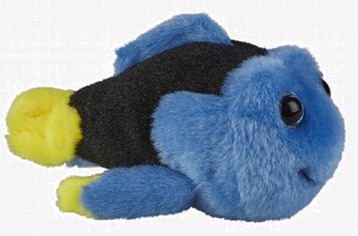 Ravensden Plush Blue Tang Fish Length 7cm