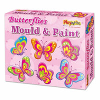 Butterfly Mould & Paint Fridge Magnets