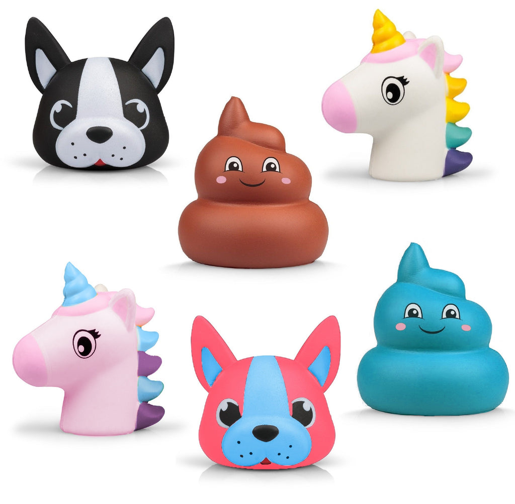 Squishy Puffems Crazy Characters