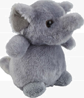 Ravensden Plush Elephant Sitting 12cm
