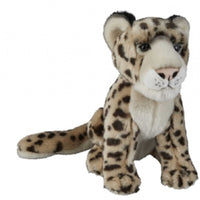 Ravensden Soft Toy Snow Leopard 28cm Sitting