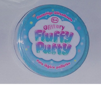 Glittery Fluffy Putty