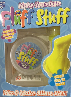 Make Your Own Fluff Stuff Slime