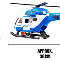 HTI Teamsterz Light and Sound Large Rescue Helecopter