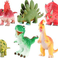 Bright Colourful Lovely 9'' Soft Dinosaurs