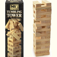 Traditional Large Wooden Tumbling Tower