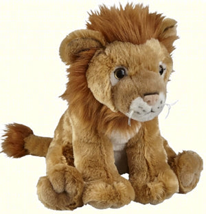 Ravensden Plush Lion Sitting 25cm