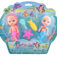 Mermaid Princess 2pcs
