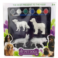 Paint Your Own Pet Dogs 4pcs