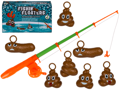 7Pc Fishing For Floaters Bath Game
