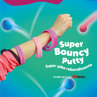 Goobands Bouncing Neon Putty Tub and Wristband