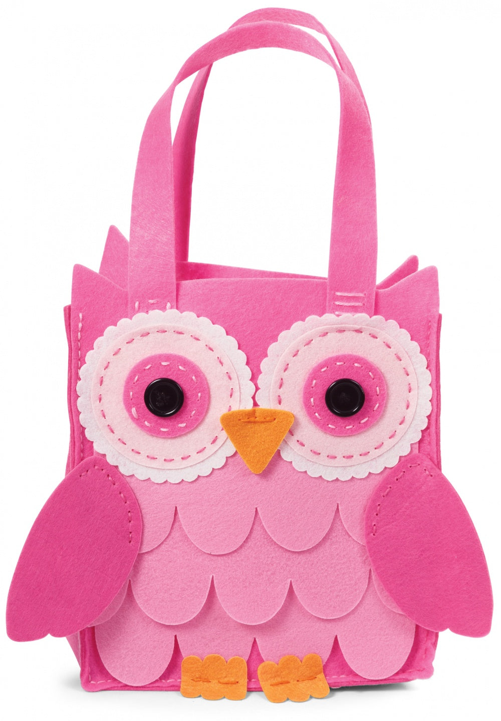 Maker Your Owl Felt Owl Bag