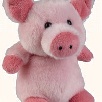 Ravensden Small Plush Pig Sitting 12cm
