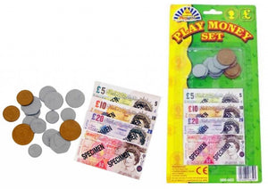 Play Money Notes & Coins