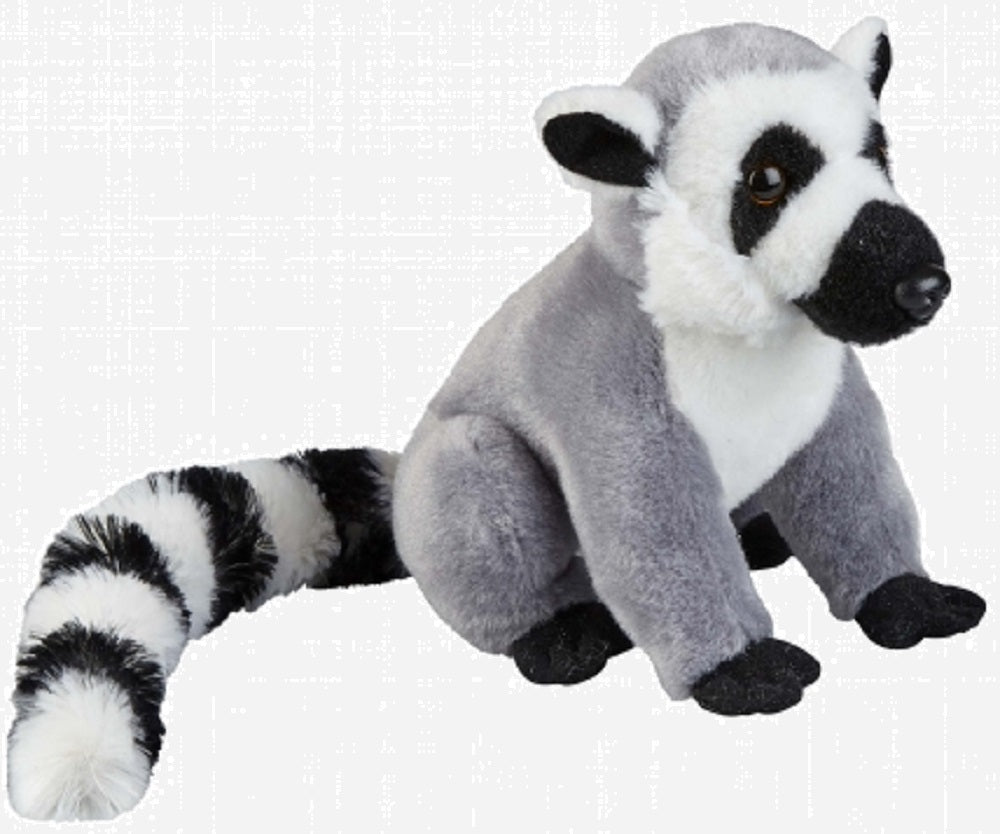 Ravensden Plush Ring Tailed Lemur Sitting 15cm