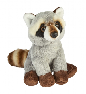 Ravensden Soft Toy Raccoon Plush 14cm