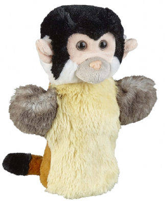 Ravensden Squirrel Monkey Puppet 30cm (Including tail)