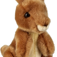 Ravensden Soft Toy Kangaroo Sitting 18cm