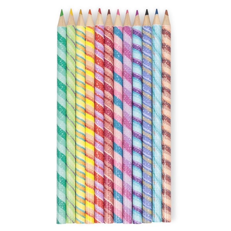 12 Pack of Sweet Shop Scented Pencils