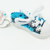Sequin Shoes Keyring